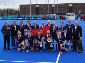 England Hockey Mens o60s Plate Winners 2017